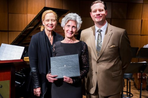 HASS Dean Recognized As Steinway Artist.