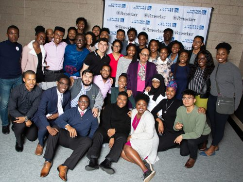 United Airlines Supports Accepted Scholarship Students