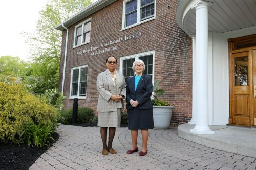 Admissions Building Named After Pioneering Alumna