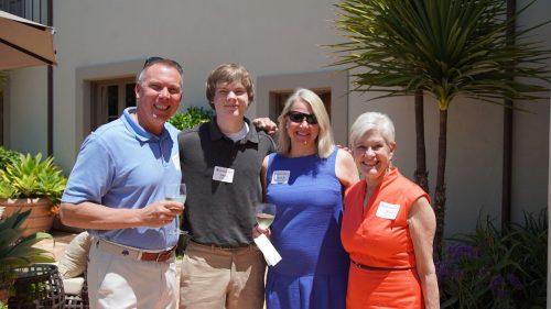 Trustee Nancy Mueller Hosts Annual Summer Garden Party